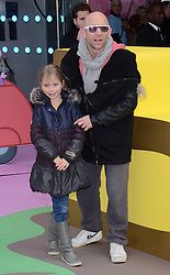 Jason Bradbury and Marnie attend The Premiere of Peppa Pig: The Golden Boots at The Odeon, Leicester Square, London on Sunday 1 February 2015