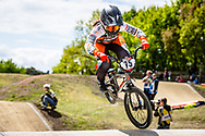 #75 (VAN BENTHEM Merle) NED at Round 4 of the 2019 UCI BMX Supercross World Cup in Papendal, The Netherlands