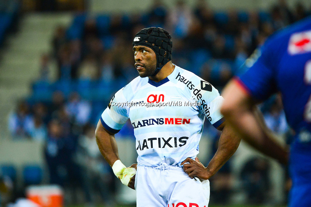Brian MUJATI - 07.03.2015 -  Racing Metro / Grenoble  -  19eme journee de Top 14<br />