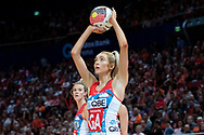 SYDNEY, NSW - JUNE 16: Helen Housby of the Swifts takes a shot during the round 8 Super Netball match between the Sydney Swifts and the Giants at Qudos Bank Arena on June 16, 2019 in Sydney, Australia.(Photo by Speed Media/Icon Sportswire)