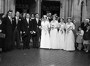 17/08/1954<br /> 08/17/1954<br /> 17 August 1954<br /> <br /> Wedding - Crosbie - Griffin  at St Joseph's Glasthule