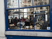 Sweetings, City restaurant, City of London. 4 March 2016