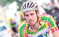 07.07.2017, St. Johann Alpendorf, AUT, Ö-Tour, Österreich Radrundfahrt 2017, 5. Kitzbühel - St. Johann/Alpendorf (212,5 km), im Bild Stephan Rabitsch (AUT, Team Felbermayr Simplon Wels) // Stephan Rabitsch (AUT, Team Felbermayr Simplon Wels) during the 5th stage from Kitzbuehel - St. Johann/Alpendorf (212,5 km) of 2017 Tour of Austria. St. Johann Alpendorf, Austria on 2017/07/07. EXPA Pictures © 2017, PhotoCredit: EXPA/ JFK