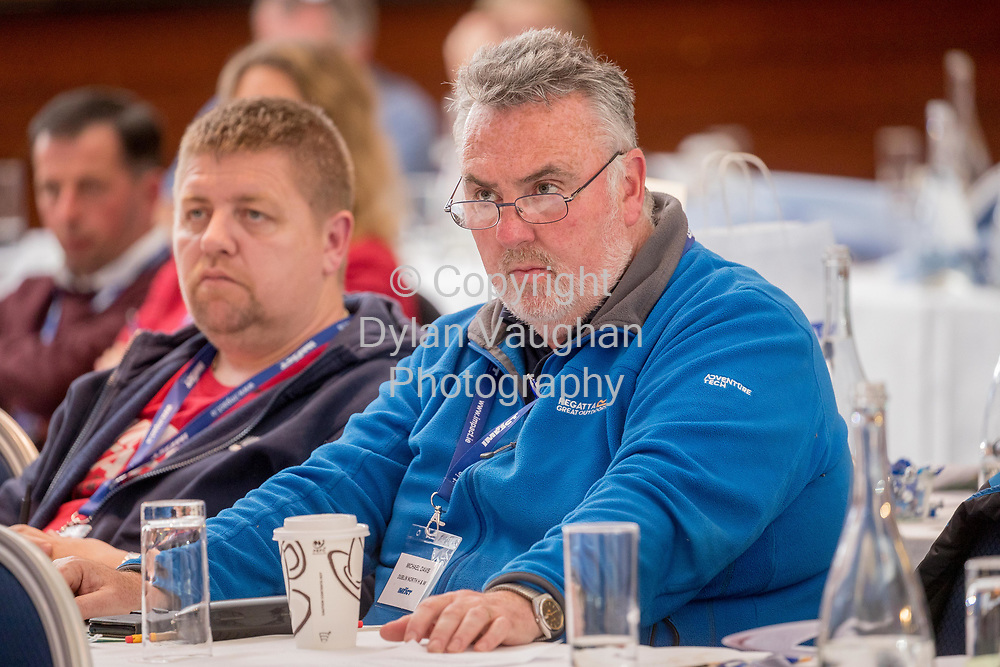 1-6-17<br />  <br /> Michael Davis, Dublin North pictured at the IMPACT Health and Welfare Division Conference in Wexford.<br /> Picture Dylan Vaughan.