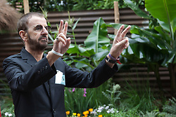 © Licensed to London News Pictures. 21/05/2012. London, England. Ringo Starr. RHS Celsea Flower Show 2012 - Press Day. Photo credit: Bettina Strenske/LNP