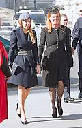 Royals Attend Sir David Frost Memorial, London