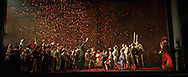 The Glyndebourne festival Chorus in Carmen, Glyndebourne Festival 2015. - These images are under embargo until Curtain up 4.50pm Saturday 23rd May 2015