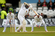 Sri Lanka Rangana Herath  is out to the bowling of England & Middlesex bowler Steven Finn  during day 3 of the first Investec Test Series 2016 match between England and Sri Lanka at Headingly Stadium, Leeds, United Kingdom on 21 May 2016. Photo by Simon Davies.