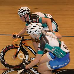 20-12-2015: Wielrennen: NK Baan: Alkmaar<br />ALKMAAR (NED) baanwielrennen <br />Kirsten Wild en Nina Kessler werden Nederlands Kampioen koppelkoers vrouwen