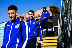 Ollie Clarke looks on as Bristol Rovers players arrive at the ground - Rogan/JMP - 23/02/2019 - FOOTBALL - Memorial Stadium - Bristol, England - Bristol Rovers v Sunderland - EFL Sky Bet League One.