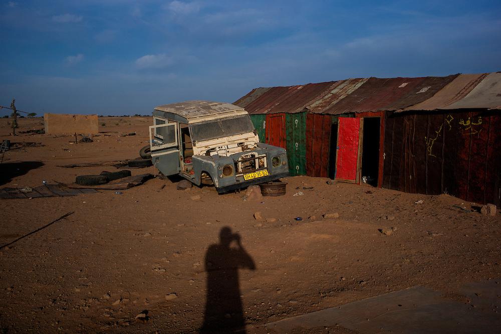 Western Sahara/Bir Lehlou 2016-10-23 <br /> Bir Lehlou is a small town and a military base in the Northeastern, Polisario controlled part of Western Sahara.