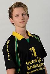 29-10-2014 NED: Selectie Prima Donna Kaas Huizen mannen, Huizen<br /> Selectie seizoen 2014-2015 / Jesse Zegeling