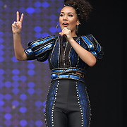 SIX performs at West End Live 2019 - Day 2 in Trafalgar Square, on 23 June 2019, London, UK.