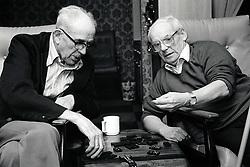 Elderly, Bilborough Nottingham UK 1988