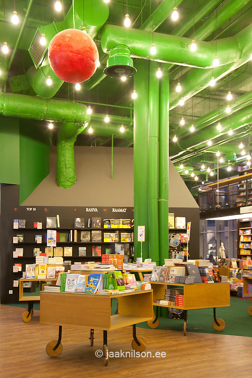 bookstore section