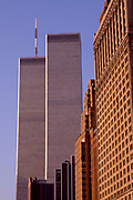 World Trade Center Highway View, New York City, New York, USA, November 1983