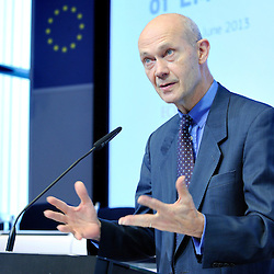 Brussels , Belgium , 19 June 2013 - Brussels Economic Forum 2013 - Restoring Competitiveness and exiting the debt crisis - 3rd Annual Tommaso Padoa - Schioppa Lecture - Pascal Lamy , Director - General WTO © EU - Patrick Mascart