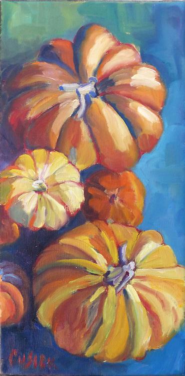 "12""h x 6""w, Original oil painting on linen"