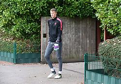 November 1, 2017 - London, England, United Kingdom - Arsenal's Matt Macey.during a Arsenal training session ahead of the UEFA Europa League Group H match against Red Star Belgrade (Crvena Zvezda)  at Arsenal training centre , London Colney on 1 Nov  2017 St.Albans, England  (Credit Image: © Kieran Galvin/NurPhoto via ZUMA Press)