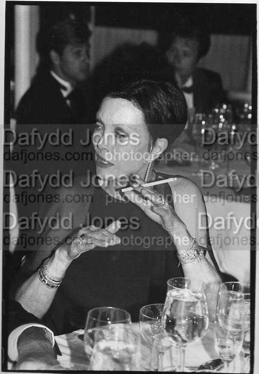 Mrs Billy Wilder at Jean Howard Book party, L.A 1989.ONE TIME USE ONLY - DO NOT ARCHIVE  © Copyright Photograph by Dafydd Jones 66 Stockwell Park Rd. London SW9 0DA Tel 020 7733 0108 www.dafjones.com