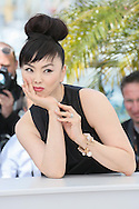 "CANNES, FRANCE - MAY 20:  Miyuki Matsuda attends the ""Still The Water"" photocall at the 67th Annual Cannes Film Festival on May 20, 2014 in Cannes, France.  (Photo by Tony Barson/FilmMagic)"