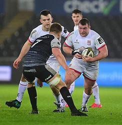 Jack McGrath of Ulster Rugby Guinness PRO14, Liberty Stadium, Swansea, UK 15/02/2020<br /> Ospreys vs Ulster Rugby<br /> <br /> Mandatory Credit ©INPHO/Alex James