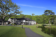 The Clubhouse at Fota Island Golf Course, Co.Cork, Ireland 25th May 2013.<br /> Picture: Eoin Clarke www.golffile.ie