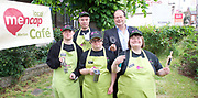 Stephen Hammond, Conservative candidate for Wimbledon and the former parliamentary under-secretary of State for Transport is on the general election campaign trail in Wimbledon today (Monday 15th May 2017). <br /> <br /> Visiting the Merton Mencap Caf&eacute;, open every Monday at Holy Trinity Church in The Broadway it offers a range of healthy home-made dishes &amp; is run by adults with a learning disability, supported by Merton Mencap staff and volunteers. <br /> <br /> Hammond who has an 11,408 majority (24.1%) met some of the workers who have learning disabilities including George Cary, Richard Dorris, Anna Caldicott and Neil Weddell. <br /> <br /> <br /> Photograph by Elliott Franks <br /> Image licensed to Elliott Franks Photography Services