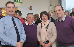 Pictured at the official opening of Mayo Mountain Rescue's headquarters at Pinewoods Westport last week were Garda superintendent Sean Colleran, Paddy and Teresa Heraty TiernaCroagha and Denis Harrington.<br /> Pic Conor McKeown