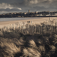 St Andrews beach, Fife, Scotland