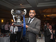 Kane Hemmings is Dundee FC's player of the year, he picked up the Andrew De Vries Trophy at  DSA Dundee FC player of the year dinner<br /> <br />  - &copy; David Young - www.davidyoungphoto.co.uk - email: davidyoungphoto@gmail.com