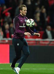 Harry Kane of England (Tottenham Hotspur)  - Photo mandatory by-line: Joe Meredith/JMP - Mobile: 07966 386802 - 27/03/2015 - SPORT - Football - London - Wembley Stadium - England v Lithuania - UEFA EURO 2016 Qualifier