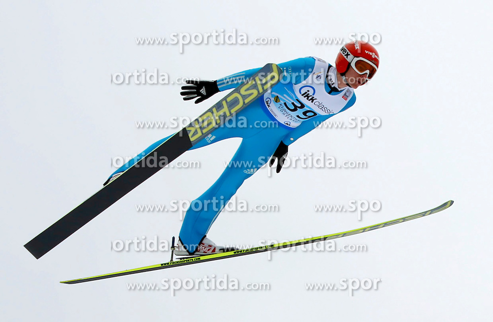 13.02.2013, Vogtland Arena, Kingenthal, GER, FIS Ski Sprung Weltcup, im Bild Richard Freitag, Deutschland // during the FIS Skijumping Worldcup at the Vogtland Arena, Kingenthal, Germany on 2013/02/13. EXPA Pictures © 2013, PhotoCredit: EXPA/ Eibner/ Ingo Jensen..***** ATTENTION - OUT OF GER *****