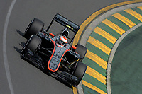 BUTTON jenson (gbr) mclaren honda mp430 action during 2015 Formula 1 championship at Melbourne, Australia Grand Prix, from March 13th to 15th. Photo DPPI / Eric Vargiolu.