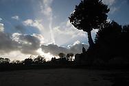 France, Britany , The Rance river estuary. Cale Jouvente