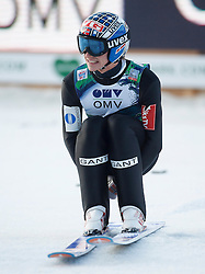 12.01.2014, Kulm, Bad Mitterndorf, AUT, FIS Ski Flug Weltcup, Zweiter Durchgang, im Bild Anders Fannemel (NOR) // Anders Fannemel (NOR) during the second round of FIS Ski Flying World Cup at the Kulm, Bad Mitterndorf, Austria on 2014/01/12, EXPA Pictures © 2013, PhotoCredit: EXPA/ Erwin Scheriau