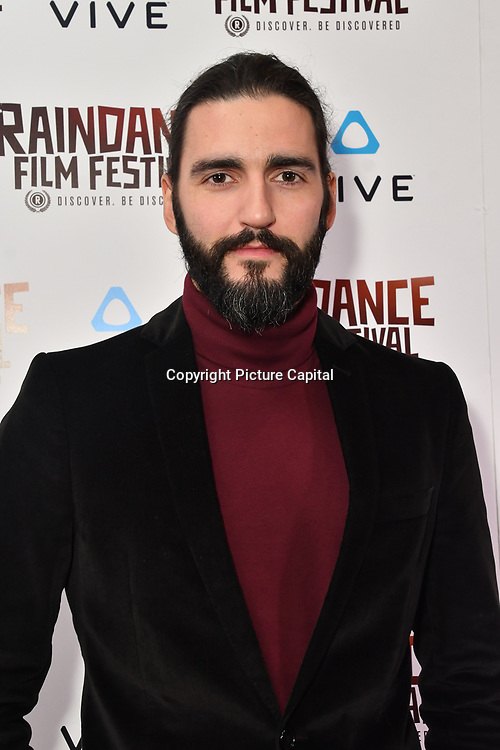 Dejan Bucin is a actor attends the Raindance Film Festival - VR Awards, London, UK. 6 October 2018.