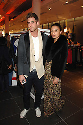 OLIVER JACKSON and DELILAH KHOMO at a party to celebrate the opening of the new H&M store at 234 Regent Street, London on 13th February 2008.<br /><br />NON EXCLUSIVE - WORLD RIGHTS