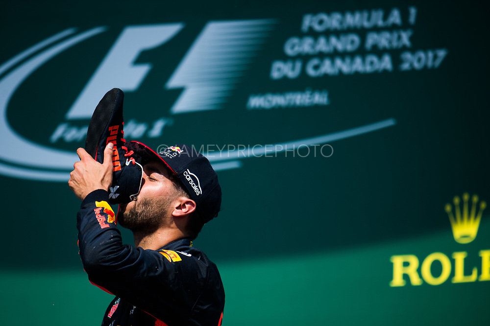 June 8-11, 2017: Canadian Grand Prix. Daniel Ricciardo (AUS), Red Bull Racing, RB13