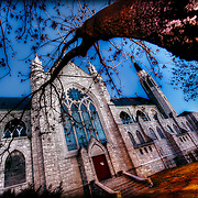 Holy Name Church at 23rd and Benton Boulevard in KCMO prior to expected demolition in January 2011.