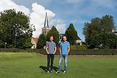 Thomas en Stefan van der Meer