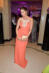 LISA SNOWDON at the QBF Spring Gala in aid of the Red Cross War Memorial Children's Hospital hosted by Heather Kerzner and Jeanette Calliva at Claridge's, Brook Street, London on 12th May 2015.