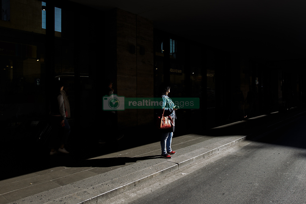 October 24, 2018 - Rome, Italy - Street scenes from daily life in Rome, Itlay, on 24 October 2018. (Credit Image: © Achilleas Chiras/NurPhoto via ZUMA Press)