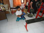 """Polio struck weightlifting champ aims to become next Mr India""<br /> <br /> Kuldeep Singh was crippled as a baby by polio - but he hasn't let that hold him back from becoming a national weightlifting champion in India.<br /> The 20-year-old from a small village called Banyapur Kurd in Haryana, north India, contracted polio soon after he was born and lost the use of both his legs. <br /> As a boy, seeing bodybuilders on television inspired him and he starting training at the age of 13 to try to emulate his heroes.<br /> ""During my childhood, whenever I saw a bodybuilder I would think about that,"" Kuldeep says. ""Many times I thought to myself, I want a body like that.""<br /> He comes from a poor background and his father is a labourer. <br /> He actually started out wanting to try his hand at wrestling, but a coach told him that his condition would make it impossible for his to succeed at the sport. He did not lose heart, however, and joined the gym to work on powerlifting. <br /> Kuldeep's hard work and determination paid off.  In 2008 he won his first championship, triumphing in the Mr Haryana para powerlifting competition.<br /> Since then he has enjoyed enormous success, winning 18 trophies and 22 medals at state and national competition level, with his last title being the national para powerlifting championship held in India last year.<br /> ""I want to live like a normal human being or a common man and want to live life with dignity,"" says Kuldeep. He explains that he does not want any sympathy for his condition. ""My hands and arms are so powerful that I don't feel that I have no legs.""<br /> His dream now is to take part in and win the Mr India competition.<br /> Kuldeep gets a bit of work in a private gym as a coach where he earns about 2000 rupees a month.  He does not get any sponsorship for his powerlifting. <br /> Kuldeep 's mother, Shakuntala, says: ""When he began the competition I was scared about whether Kuldeep could do it. But he proved himself.""<br /> She adds that she is now keen to see her son get married.<br /> It"