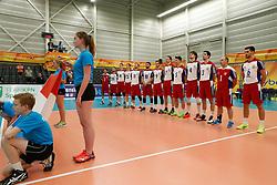 20170524 NED: 2018 FIVB Volleyball World Championship qualification, Koog aan de Zaan<br />Team Luxembourg<br />©2017-FotoHoogendoorn.nl / Pim Waslander