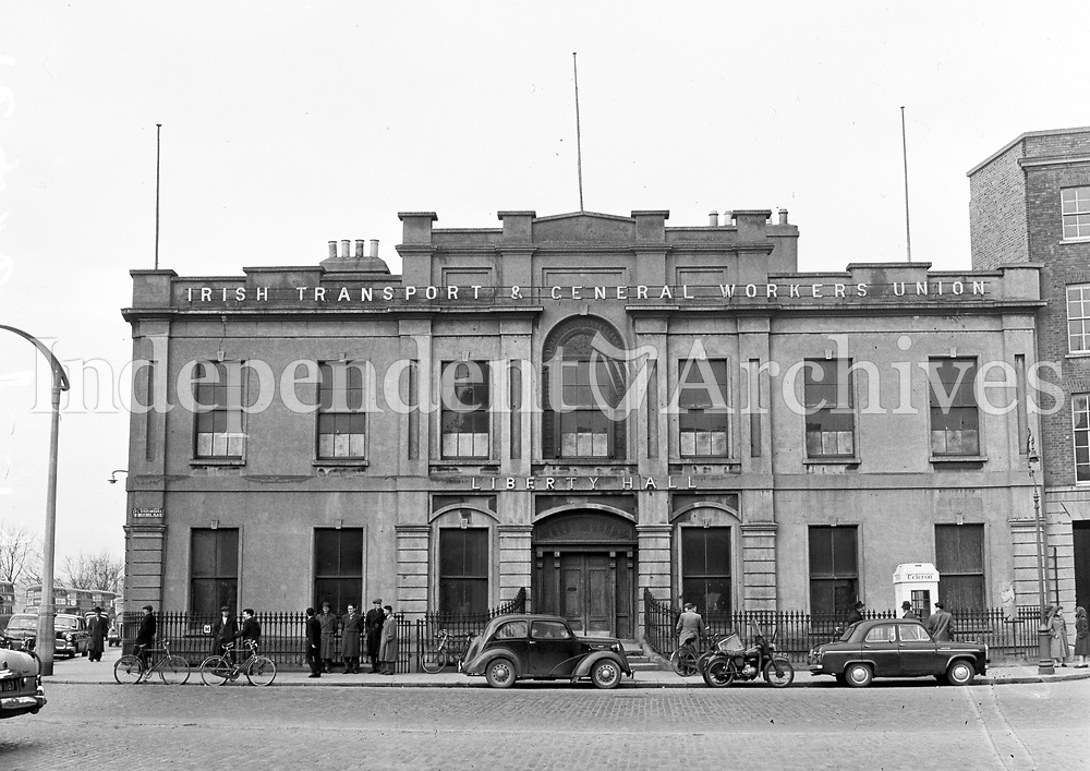 The Old Liberty Hall in Dublin, 04/03/1958 <br />