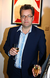 CHARLES PHILLIPS at a private view of artist Natasha Law's work entitled 'Hold' held at Eleven, 11 Eccleston Street, London SW1 on 12th January 2006.<br /><br />NON EXCLUSIVE - WORLD RIGHTS