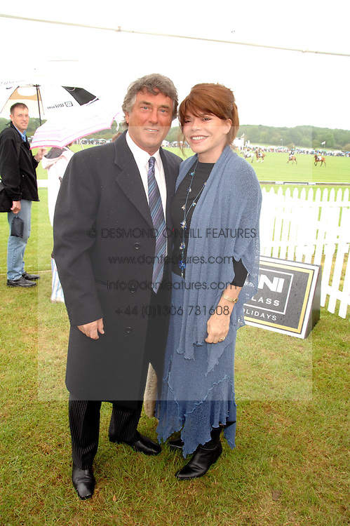 Actor BILLY MURRAY and his wife ELAINE at the Kuoni World Clas Polo Cup in aid of Breast Cancer Care held at Hurtwood Park Polo Club, Ewhurst, Surrey on 27th May 2007.<br /><br />NON EXCLUSIVE - WORLD RIGHTS