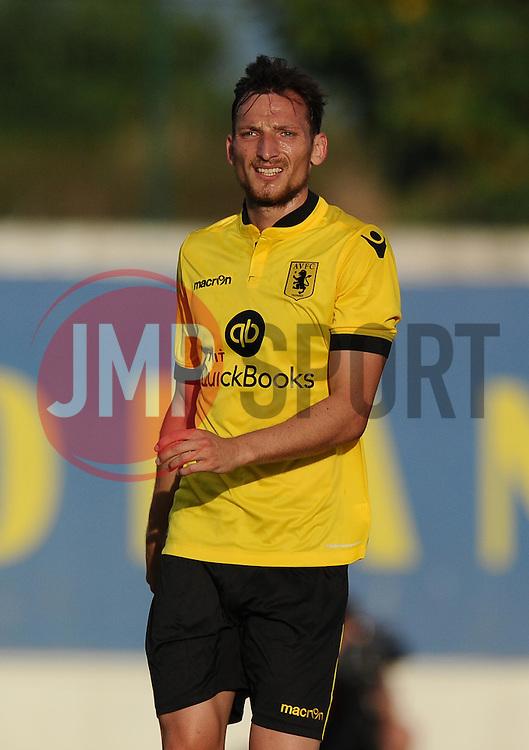 Aston Villa's Libor Kozak  - Photo mandatory by-line: Joe Meredith/JMP - Mobile: 07966 386802 - 17/07/2015 - SPORT - Football - Albufeira - Estadio Da Nora - Pre-Season Friendly