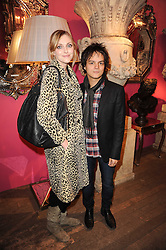 JAMIE CULLUM and SOPHIE DAHL at an exclusive viewing of Martyn Lawrence Bullard's furniture at Guinevere Antiques, 578 King's Road, London on 27th September 2010.